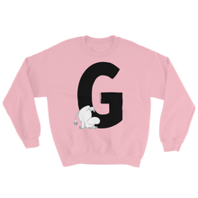 Load image into Gallery viewer, G - Moomin Alphabet Sweatshirt - feat. Moomin