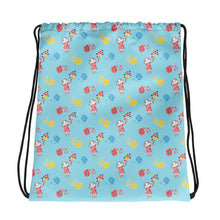 Load image into Gallery viewer, Little Anna Drawstring bag in blue
