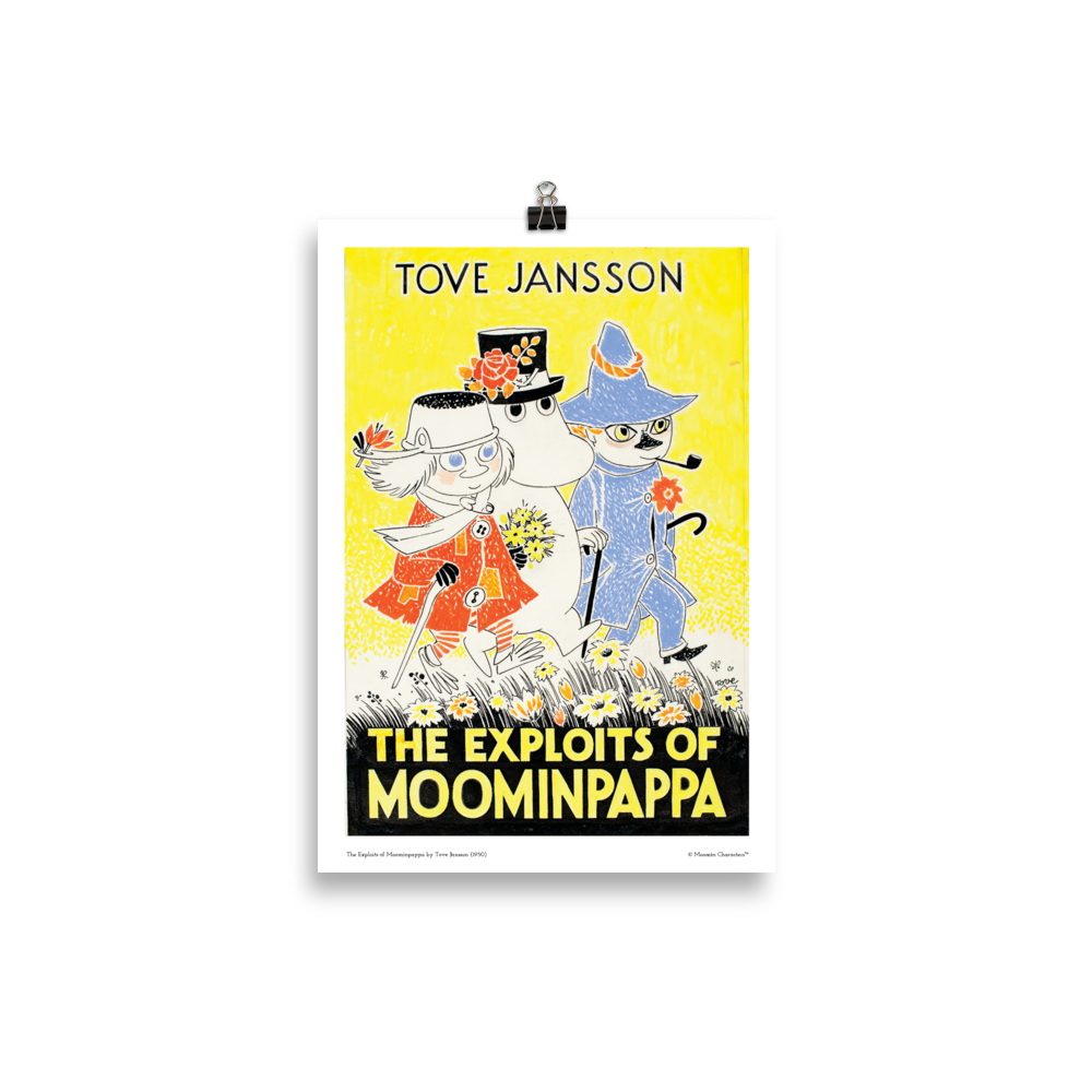 Moomin poster - The Exploits of Moominpappa