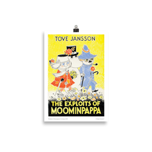 Load image into Gallery viewer, Moomin poster - The Exploits of Moominpappa