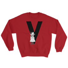 Load image into Gallery viewer, V - Moomin Alphabet Sweatshirt - feat. Snufkin