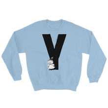 Load image into Gallery viewer, Y - Moomin Alphabet Sweatshirt - feat. Little My