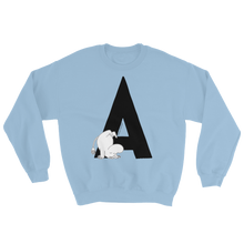Load image into Gallery viewer, A - Moomin Alphabet Sweatshirt - feat. Moomin