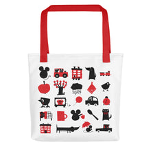 Load image into Gallery viewer, Hippu Tote Bag Red Skandibrand