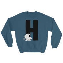 Load image into Gallery viewer, H - Moomin Alphabet Sweatshirt - feat. Moomin