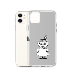 Little My iPhone case grey