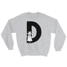 Load image into Gallery viewer, D - Moomin Alphabet Sweatshirt - Snufkin