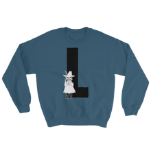 Load image into Gallery viewer, L - Moomin Alphabet Sweatshirt - feat. Snufkin