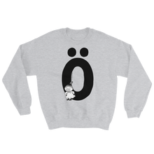 Load image into Gallery viewer, Ö - Moomin Alphabet Sweatshirt - feat. Little My
