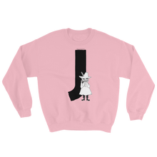Load image into Gallery viewer, J - Moomin Alphabet Sweatshirt - feat. Snufkin