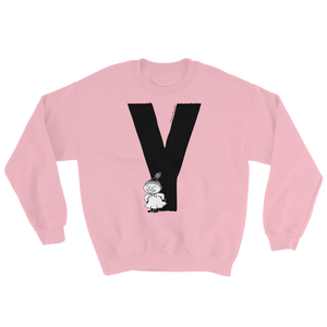 Y - Moomin Alphabet Sweatshirt - feat. Little My