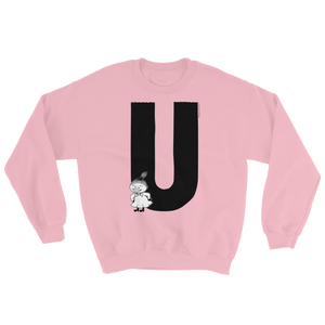 U - Moomin Alphabet Sweatshirt - feat. Little My