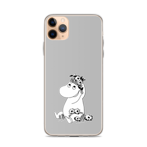 Snorkmaiden iPhone case grey