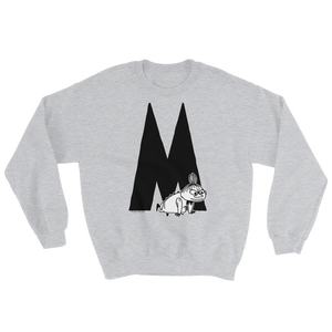 Moomin Alphabet sweatshirt - M as in Little My