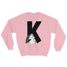 Load image into Gallery viewer, K - Moomin Alphabet Sweatshirt - feat. the Groke