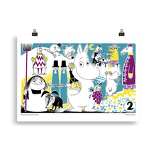 Load image into Gallery viewer, Moomin Comic book cover 2 Poster Skandibrand