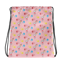 Load image into Gallery viewer, Little Anna Drawstring bag in pink