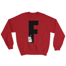 Load image into Gallery viewer, F - Moomin Alphabet Sweatshirt - feat. Little My