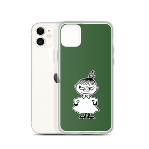 Little My iPhone case forest green