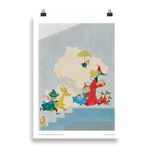 Load image into Gallery viewer, Moomin poster - The Aurora Hospital mural