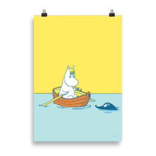 Load image into Gallery viewer, #OURSEA poster - Snorkmaiden