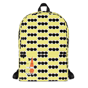 Button & Popper apple boxes backpack