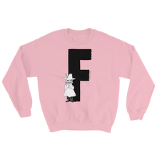 Load image into Gallery viewer, F - Moomin Alphabet Sweatshirt - feat. Snufkin