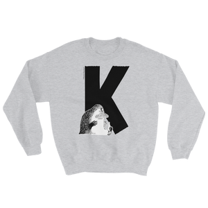K - Moomin Alphabet Sweatshirt - feat. the Groke