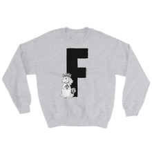Load image into Gallery viewer, Moomin Alphabet sweatshirt - F as in Fuzzy