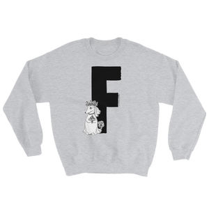 Moomin Alphabet sweatshirt - F as in Fuzzy