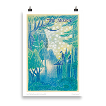 Load image into Gallery viewer, Moomin poster - Draft of Tales from Moominvalley