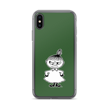 Load image into Gallery viewer, Little My iPhone case forest green