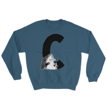 Load image into Gallery viewer, C - Moomin Alphabet Sweatshirt - feat. the Groke