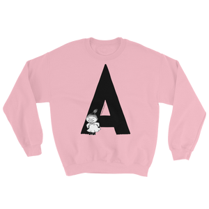 A - Moomin Alphabet Sweatshirt - feat. Little My