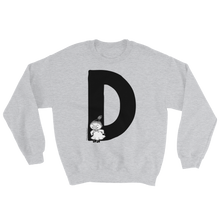 Load image into Gallery viewer, D - Moomin Alphabet Sweatshirt - Little My