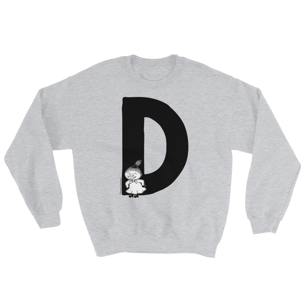 D - Moomin Alphabet Sweatshirt - Little My