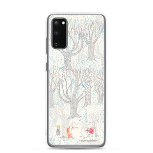 A day in November beige Samsung case