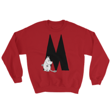 Load image into Gallery viewer, Moomin Alphabet sweatshirt - M as in Moomintroll