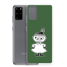 Load image into Gallery viewer, Little My Samsung case forest green