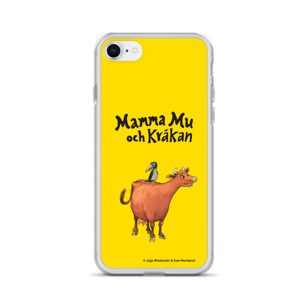Mamma Moo and the Crow Yellow iPhone Case