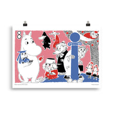 Load image into Gallery viewer, Moomin Comic book cover 8 Poster Skandibrand