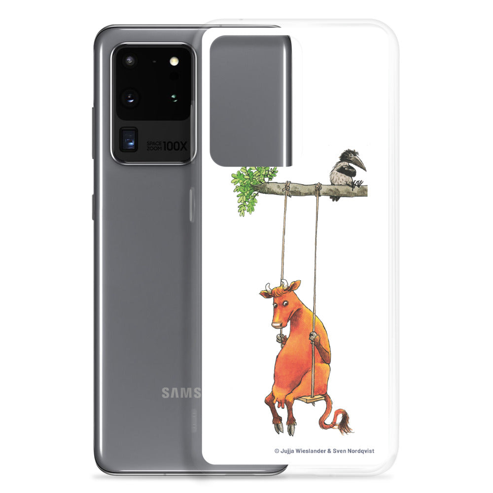 Swinging Mamma Moo and the Crow Samsung Case
