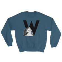 Load image into Gallery viewer, W - Moomin Alphabet Sweatshirt - feat. the Groke