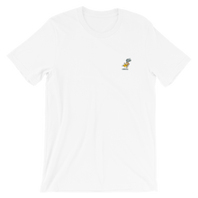 Load image into Gallery viewer, Mauri Kunnas Mr Clutterbuck Skateboard Short-Sleeve Unisex T-Shirt White Skandibrand