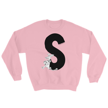 Load image into Gallery viewer, Moomin Alphabet sweatshirt - S as in Sniff