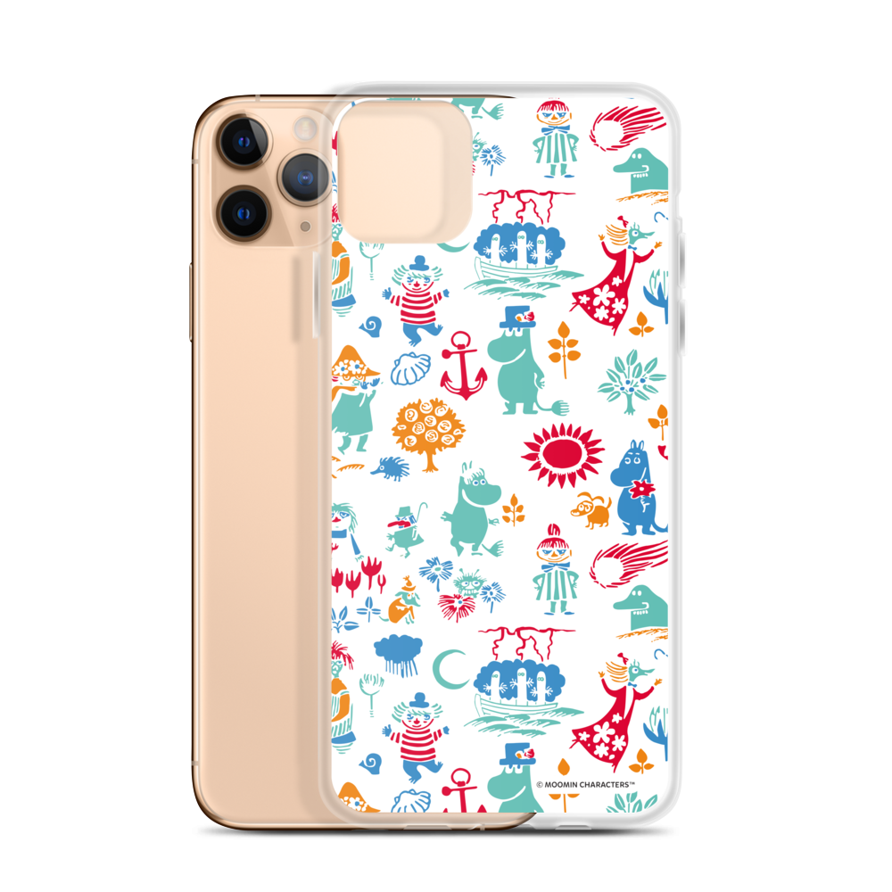 Moomin valley iPhone case