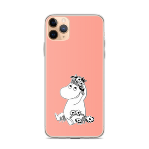 Snorkmaiden iPhone case pink