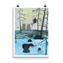 Load image into Gallery viewer, Linda Bondestam Rosabel and Beaver Poster