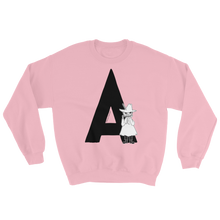 Load image into Gallery viewer, A - Moomin Alphabet Sweatshirt - feat. Snufkin