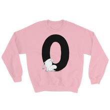 Load image into Gallery viewer, O - Moomin Alphabet Sweatshirt - feat. Snufkin